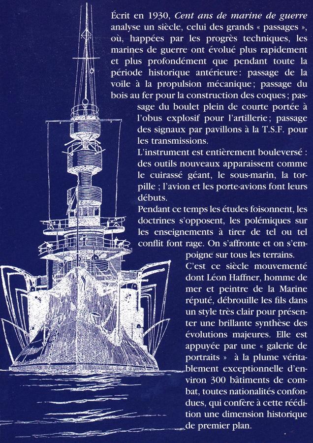 Léon Haffner - Cent ans de Marine de guerre