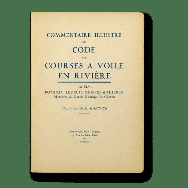 Code courses à voile en rivière - 1929