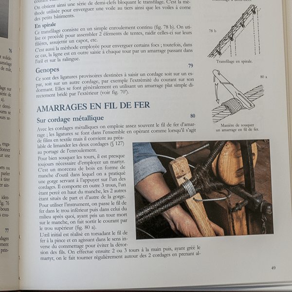Matelotage et Voilerie