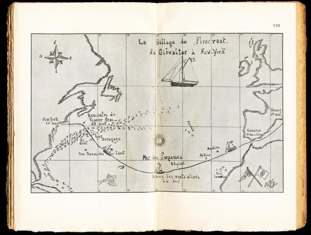 Alain Gerbault - Seul à travers l'Atlantique