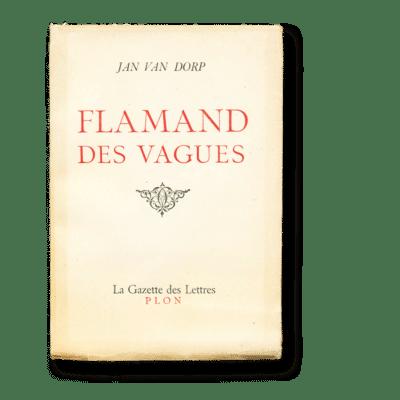 Flamand des vagues Jan Van Dorp Edition originale