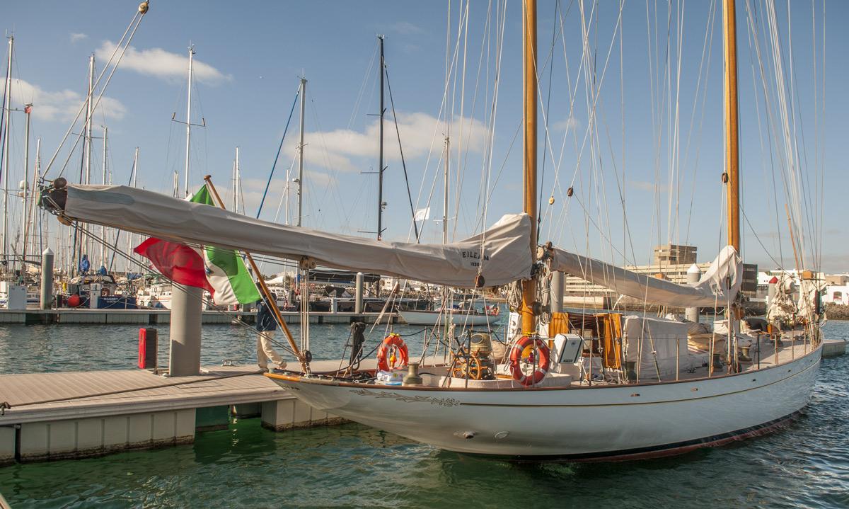 Eilean à la Marina Lanzarote