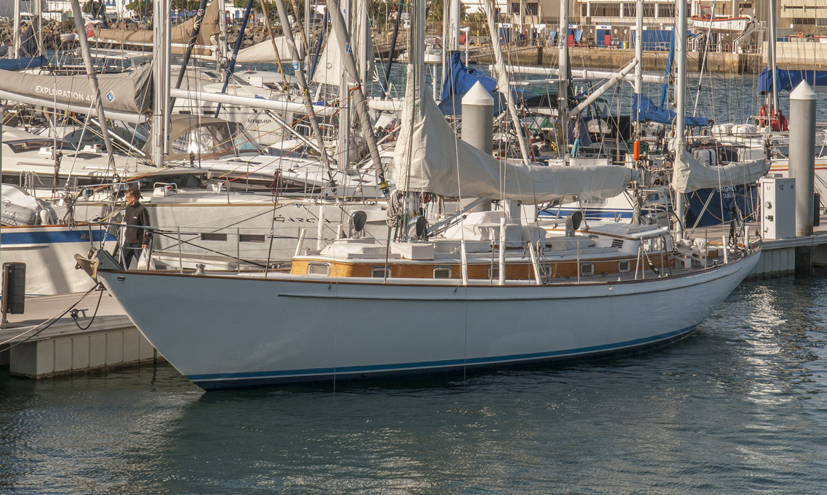 Hilaria à la Marina Lanzarote