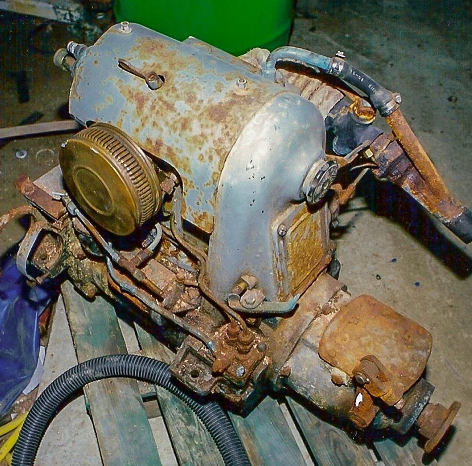 Ancien moteur